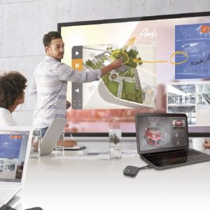 Interactive touchscreen